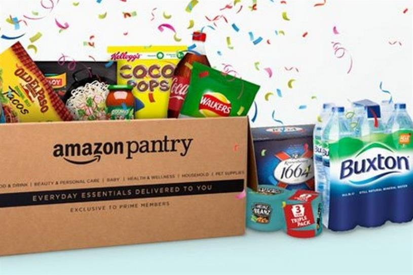 Free Amazon Pantry Delivery worth £3.99.