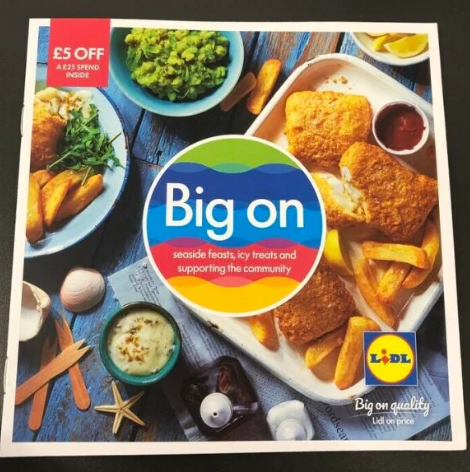 £5 off a £25 spend valid from 20/07 – 02/08 @ Lidl Instore magazine