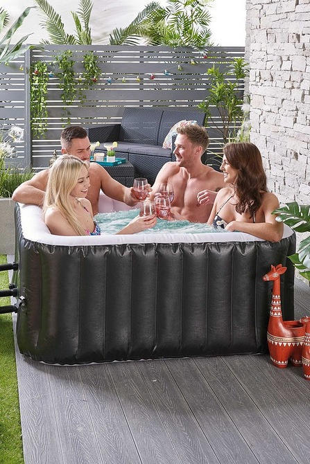 4 Person Square Black Spa just £249.99 @ Studio + Pay nothing till 2021.