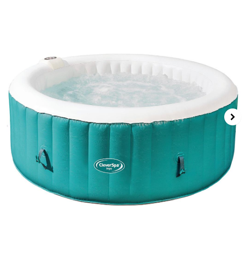 CleverSpa Inyo Inflatable Hot Tub for up to 4 people £299 + £3.50 del @ JD Williams