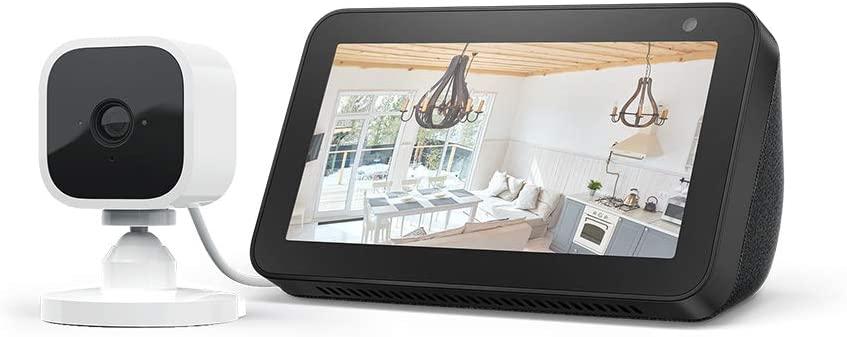 Echo Show 5, Black + Blink Mini Camera, Works with Alexa just £59.99 @ Amazon