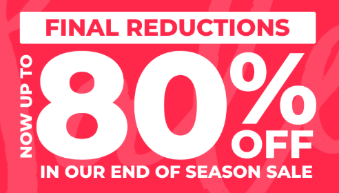 The Big 80% Sale @ Studio + 10% off & Free Delivery for new Customers.